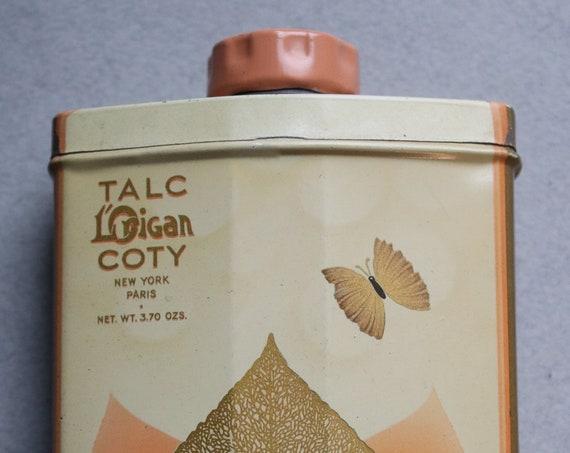 Circa 1940s L'Origan by Coty Talc