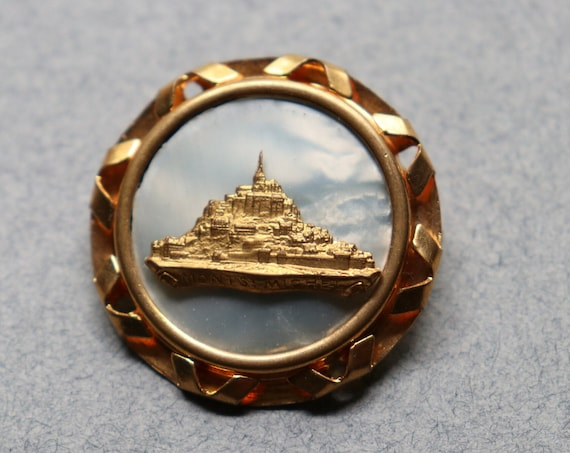 Mont Saint Michel Brooch from Normandy