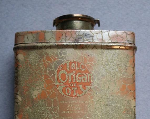 Circa 1920s L'Origan by Coty Talc