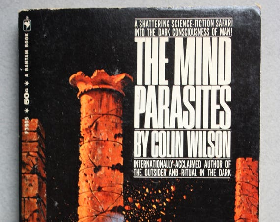Vintage 1960s Sci-Fi The Mind Parasites by Colin Wilson