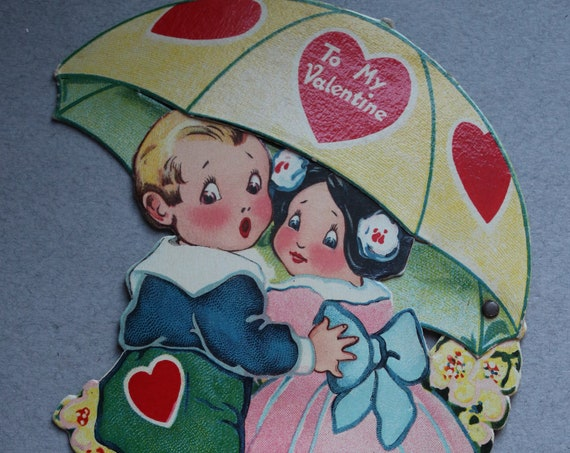 Vintage German Mechanical Valentine