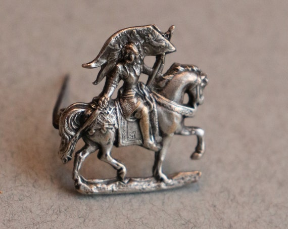 Joan of Arc (Jeanne d'Arc) Antique Brooch from France