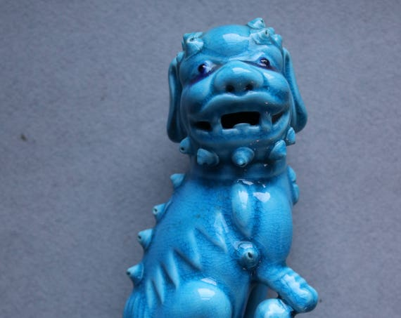 Early to Mid 20th Century Chinese Female Foo Dog