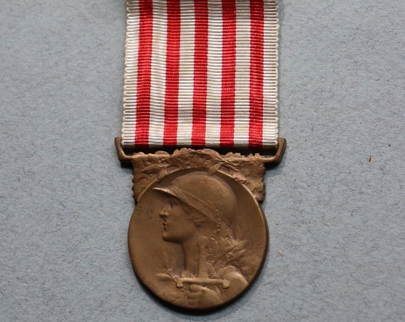 French Commemorative Medal of The Great War (WWI), 1914-1918 by J. Gatty