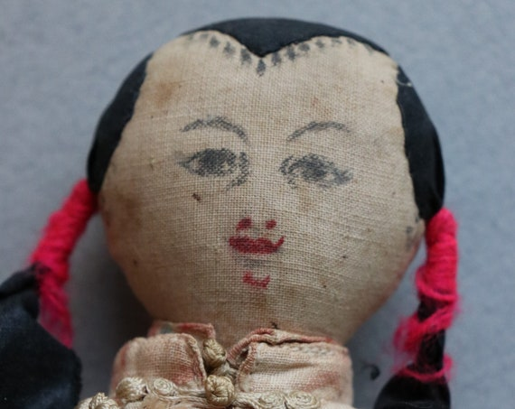 Asian Cloth Doll