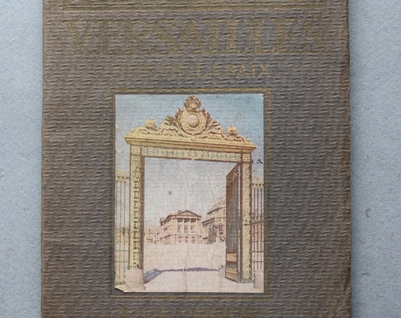 Antique Tourist Guide for Versailles