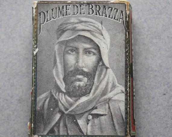 Antique, Plume de Brazza Box by D. Leonardt and Cie of Birmingham