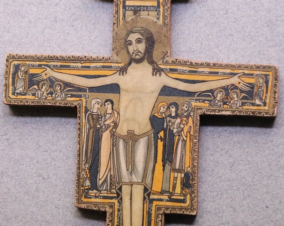 San Damiano Crucifix from Assisi
