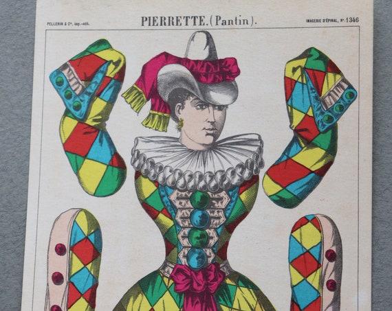 Pierrette Postcard by Pellerin of Épinal, France