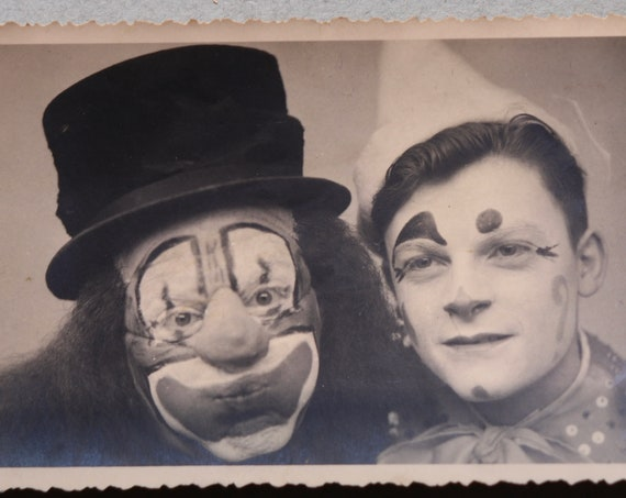 L'Auguste and Le Clown Blanc (The Auguste and The White Clown) French Photograph