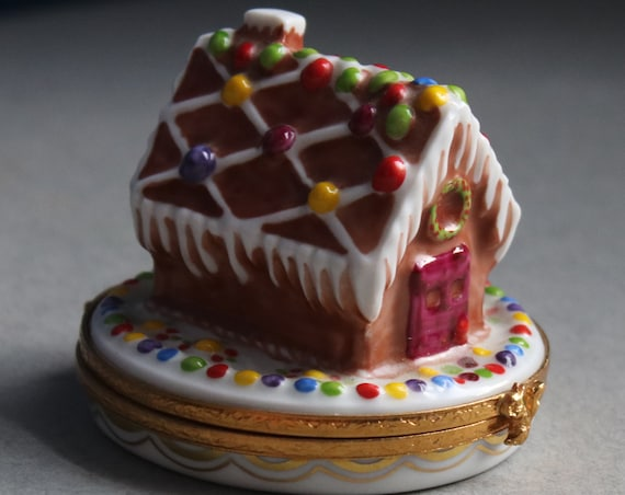 Limoges Gingerbread House