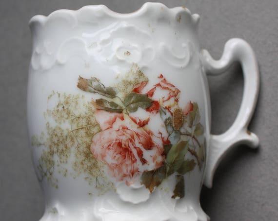 Antique Partitioned Shaving Mug