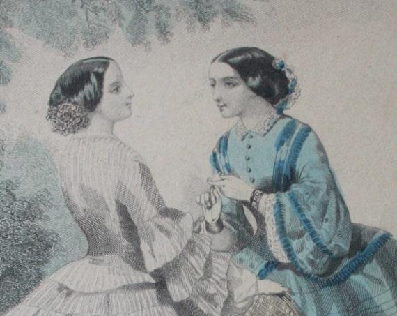 Illman & Sons Antique, Circa 1850s, Framed Print