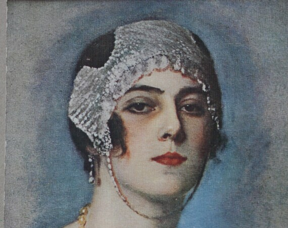 G. Herve, Circa 1910s Salon de Paris Postcard by Lapina of Paris, France