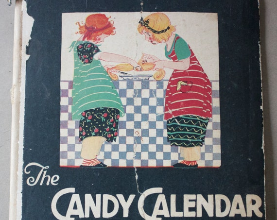 The Candy Calendar, 1924 Woman's World Magazine Co. Inc. Publication