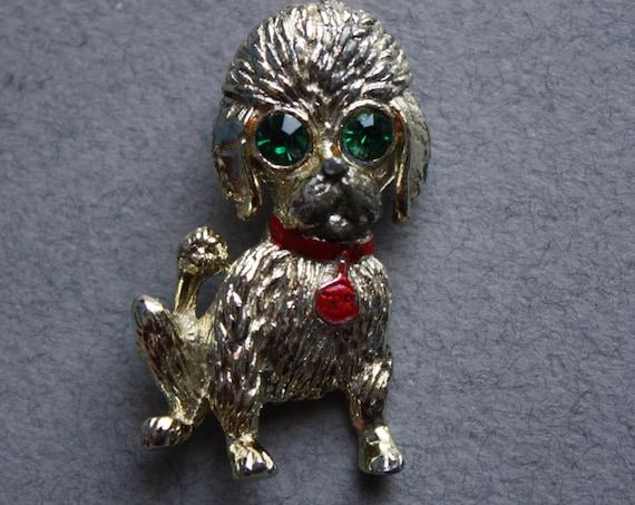 Vintage Gerry's Poodle Brooch