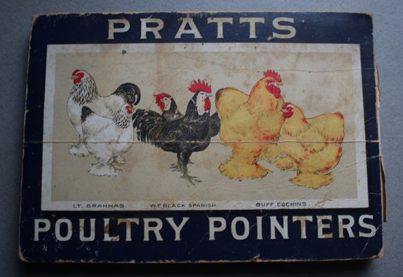Pratts Poultry Pointers Antique Book