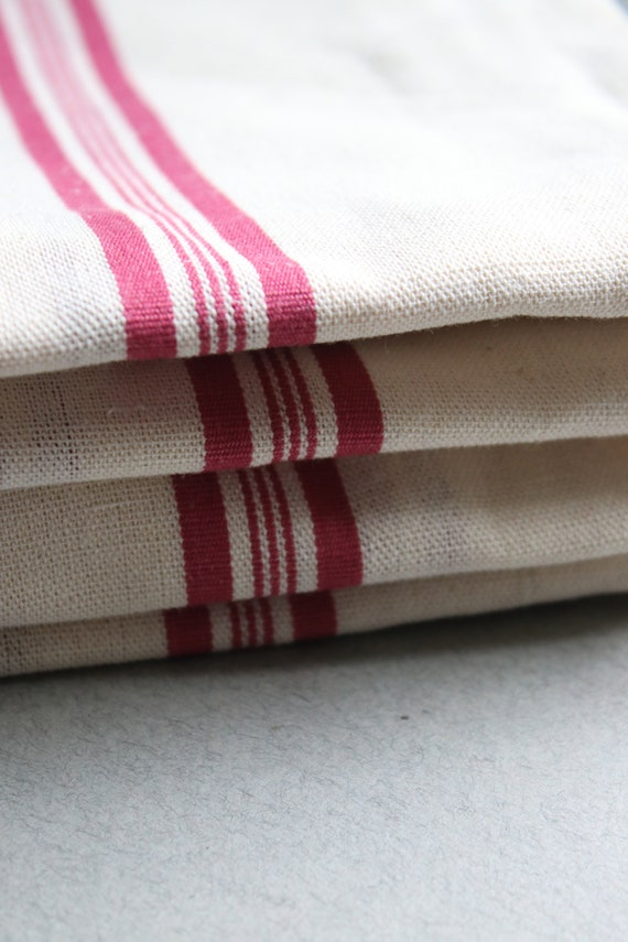French Linen and Cotton Tea Towels