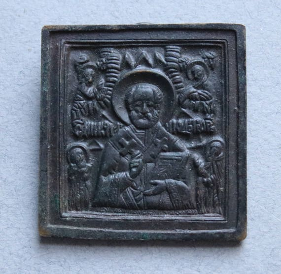 Old Believers Russian Christian Orthodox/Eastern Orthodox Icon of St. Nicholas