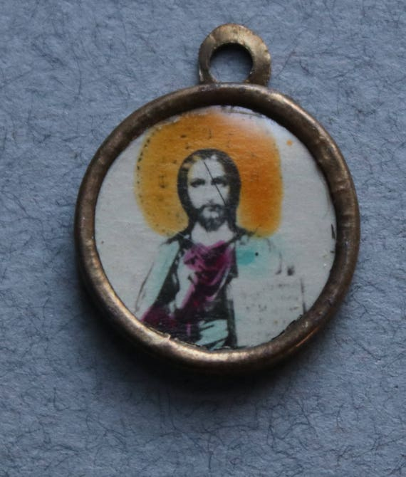 Christ Vintage Pendant