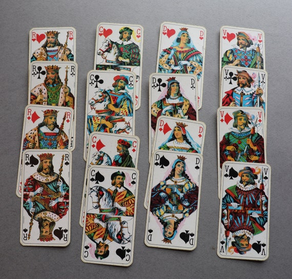 Vintage French Tarot Playing Card Game