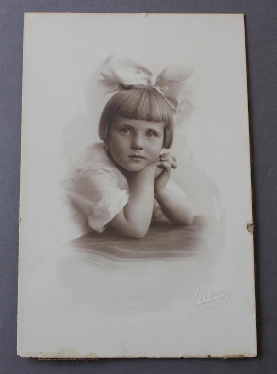 Sarony Studios Vintage Sepia Photograph