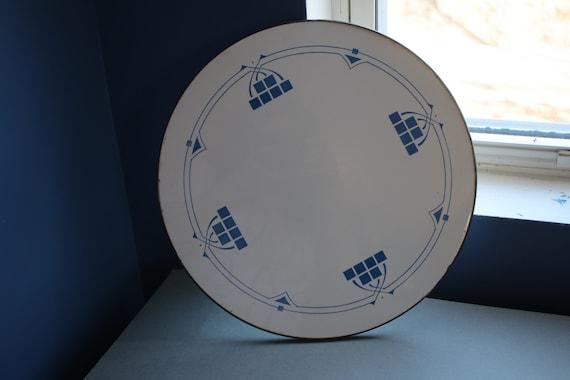 Max Dannhorn Art Deco Porcelain Platter