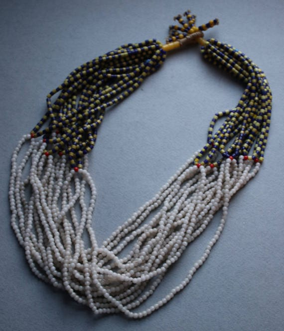 Antique African Fulani Gold Coast Necklace