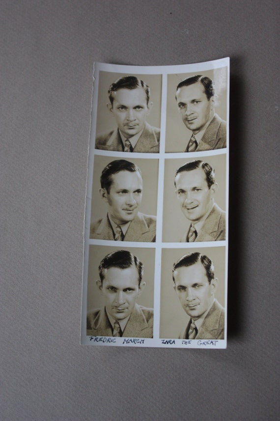 Fredric March Headshots