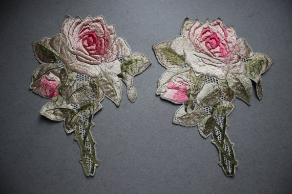 Crewelwork Roses