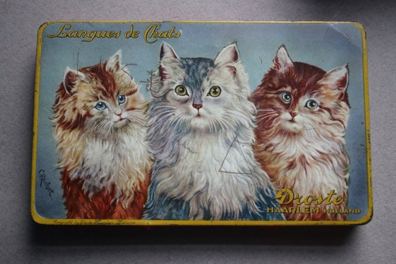 Droste Dutch Langues de Chats Tin
