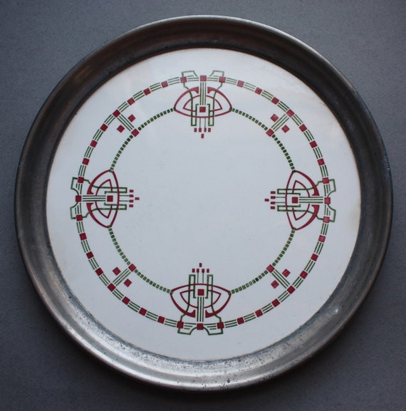 Art Deco Serving Plate