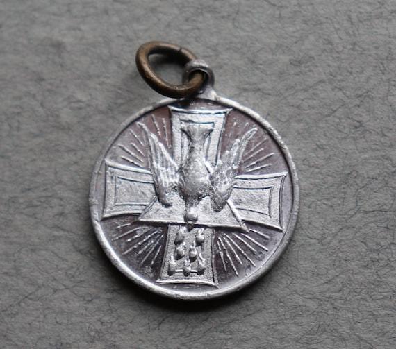 Vintage St. Esprit (Holy Spirit) Medal from France