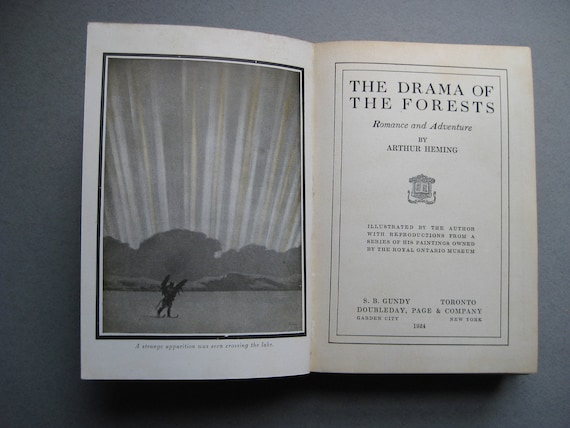 The Drama of the Forests by Arthur Heming