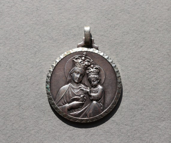 Our Lady of Sion French Medal