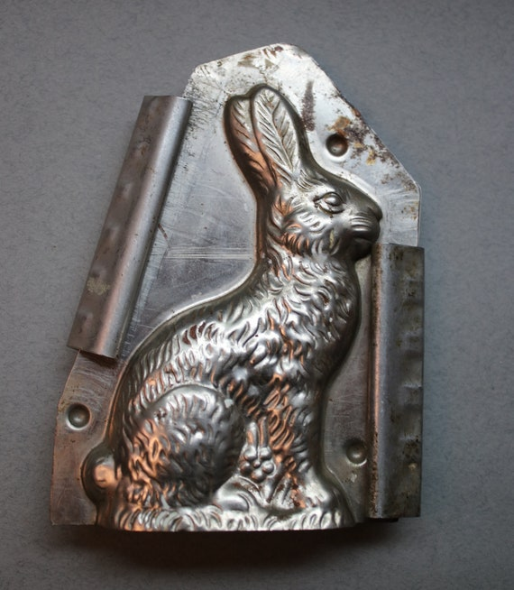French Rabbit Chocolate Mold