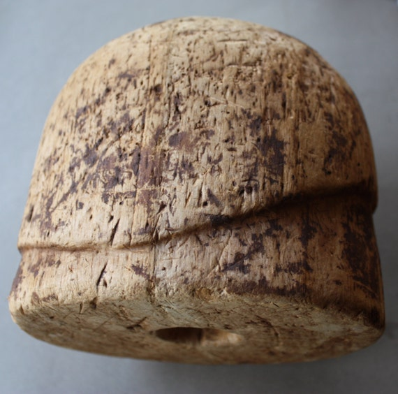 Circa 1920s, Cork, Cloche, Hat, Millinery Form