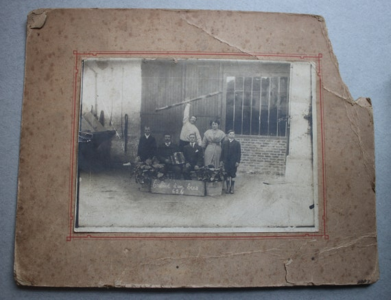 Antique French Photo