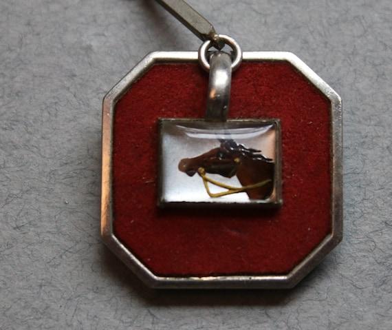 Essex Crystal Horse Watch Fob