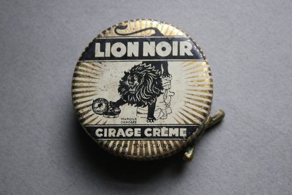 Lion Noir Tin from Lyon