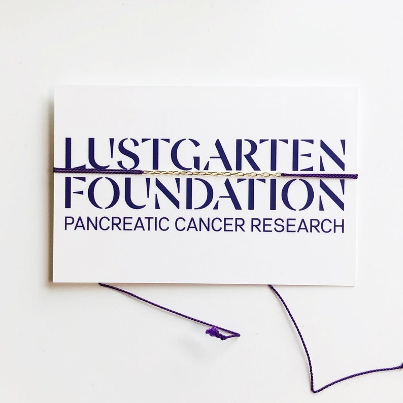 Lustgarten Foundation Pancreatic Cancer Research Purple image 0