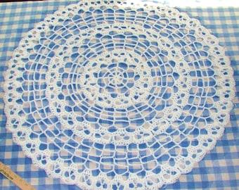 PDF  Creepy Skulls Spider Web Baby Blanket or, Doily Infinity Round Crochet Pattern