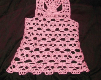 PDF  Creepy Skull Dress  Baby to Plus sizes Included Crochet Pattern