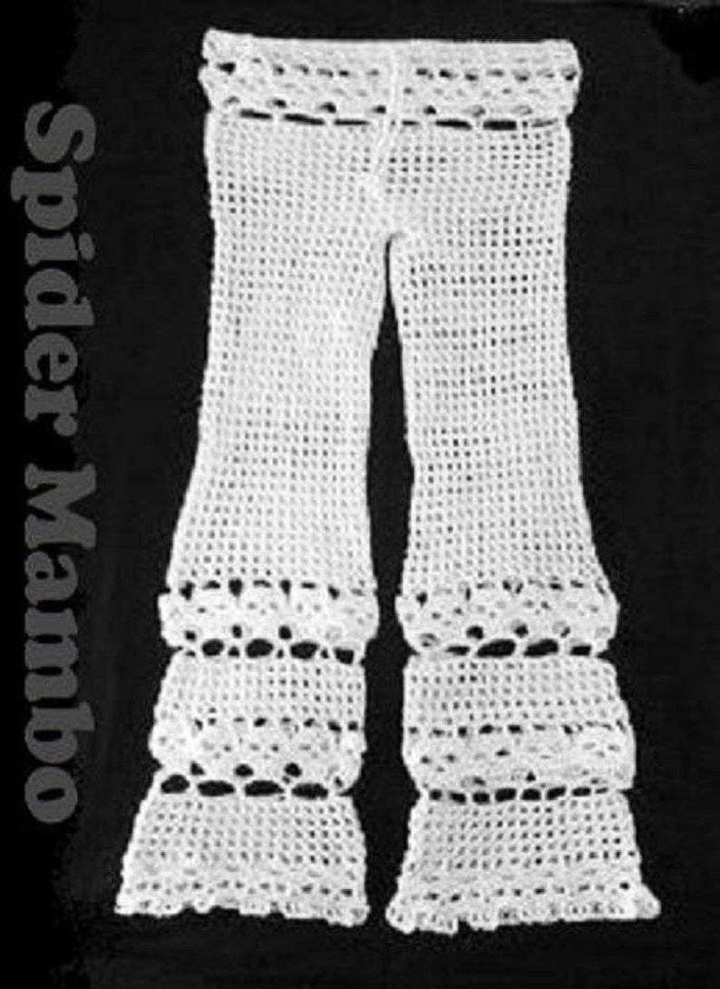 60d4db6acf PDF Crochet Pattern Creepy Skull Beach Pants Bathing Suit | Etsy