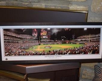 FREE SHIPPING Philadelphia Phillies custom framed Stadium Panoramic Print 2008 World Series Champions
