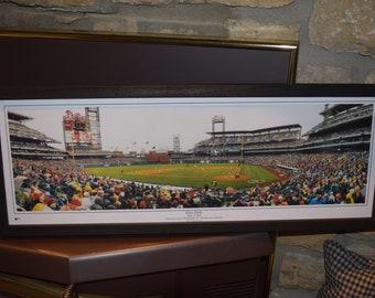FREE SHIPPING Philadelphia Phillies custom framed Stadium Panoramic Print First Pitch  Citizens Bank Park