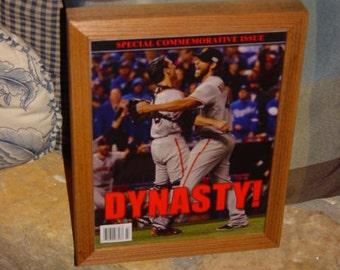 FREE SHIPPING San Francisco Giants custom framed solid rustic cedar 2014 World Series Champions Commemorative Edition