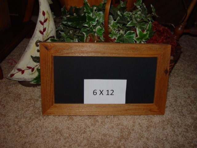 Free Shipping 6x12 Wood License Plate Multi Purpose Frame Solid