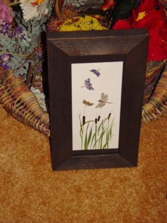 Free Shipping Solid Cedar Wood 4x10 Picture Photo Craft Frames Etsy