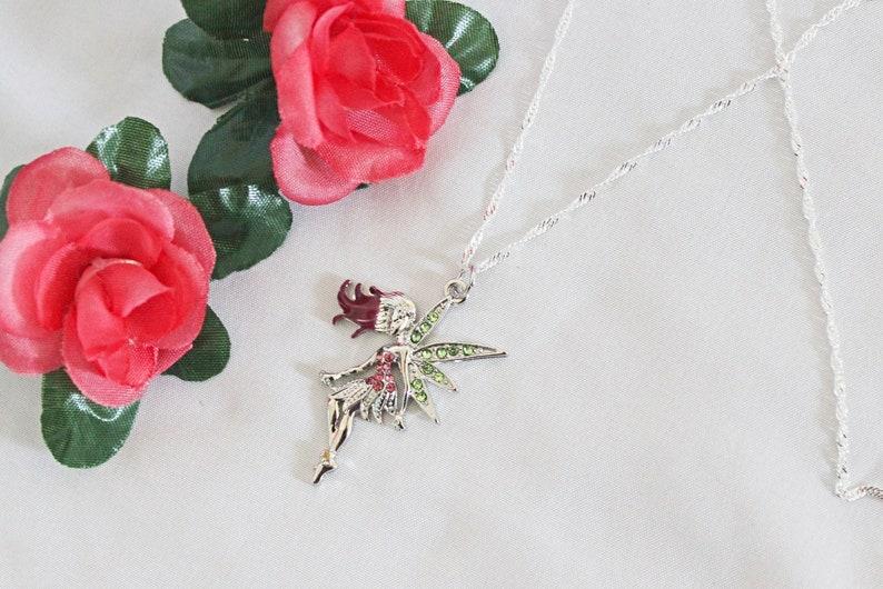 Simple Fairy Necklace Fairy Necklace